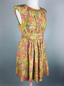 BODEN-Women-039-s-Selina-Dress-12-Petite-Wedding-Occasion-Summer-Skater-Lined-Floaty