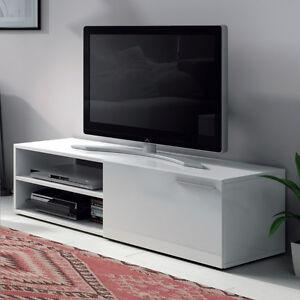 Mueble-modulo-de-television-de-130-cm-de-comedor-o-salon-blanco-brillo