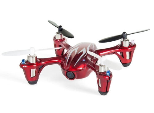 Hubsan X4 Mini Quadcopter With HD 720p Camera Red