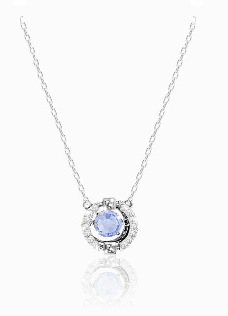 Plated Ballet Girl Crystal Pendant Necklace Sweater Chain Women Accessories