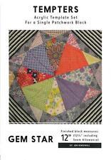 Bells Beach 12 Quilt Block Jen Kingwell Acrylic Tempters Series Template Set