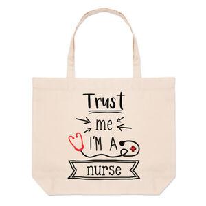 Soignant tout Médical Trust Plage Me Sac Infirmière A Fourre Grand I'm Drôle 66aqTpPw