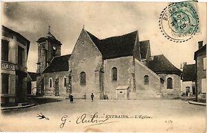CPA ENTRAINS-L'Église (420730)