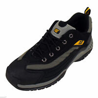 New Caterpillar Moor RM Athletic Oxford Mens Black Trainers Safety Shoe
