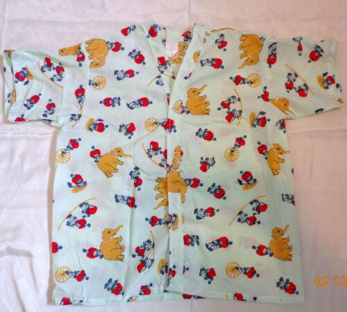 1 to 12 pc lot Unisex Children Pediatric Medical Hospital Pajama Top Shirt M  L