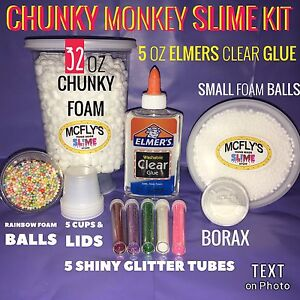 Elmers glue slime kit do it yourself with instructions ebay image is loading elmers glue slime kit do it yourself with solutioingenieria Images