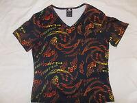Fubu The Collection Tshirt V Neck Fubu Shirt Size (m) Medium