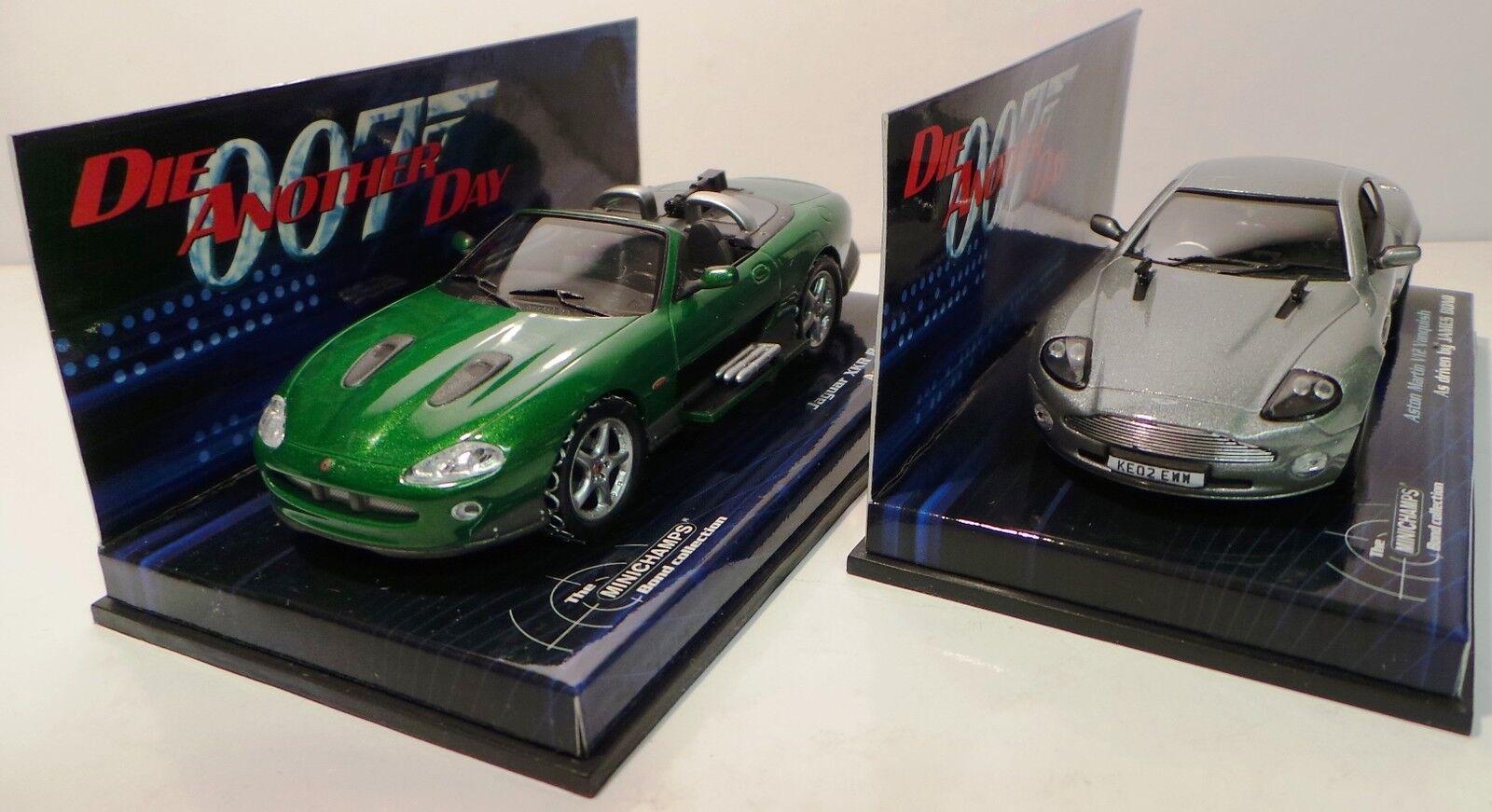 James Bond: Meurs un autre jour-Aston Martin V12 Vanquish & JAGUAR XKR Set (XP) | Sortie  | Moins Cher  | Les Produits Sont Vendu Sans Limitations  | Service Supremacy