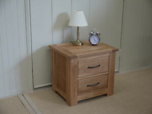 PEMBROKE-CAMBRIDGE-2-DRAWER-LAMP-TABLE-BEDSIDE-100-SOLID-OAK