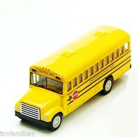 School Bus Yellow Blue Bird Cv200 Diecast 1:150 Scale N Scale