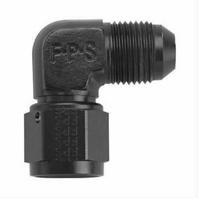 x 3//4 MPT 90/° Adapter Fitting Fragola FRG482209-BL Black Size -10