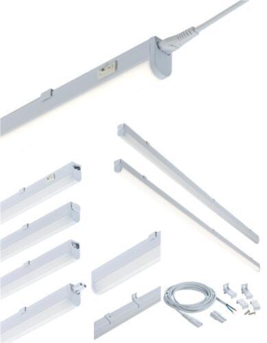 LED Linkable Under Cabinet Shelf Lighting Cool White Kitchen Strip Light 18watts