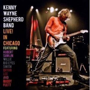 Kenny-Wayne-Shepherd-Live-a-Chicago-CD-Rock-Nuovo