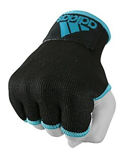 Adidas-Inner-Gloves-Hand-Wraps-Hand-Pads-Boxing-Kickboxing-Black-Blue