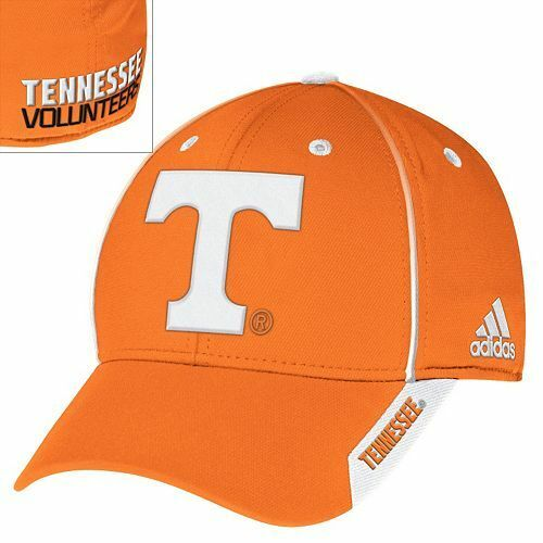 Kappe ADIDAS Flexfit One Size Tennessee Volunteers Cap NCAA College Cap