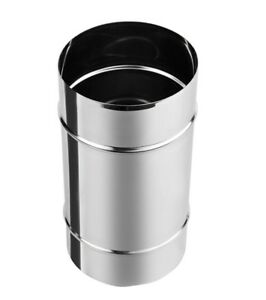 Stainless-Steel-Male-Connector-Chimney-Flue-Liner-Pipe-Joiner-Coupler-Multi-Fuel