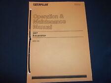 Cat Caterpillar 307 Excavator Operation Amp Maintenance Book Manual Sn 2pm1 256
