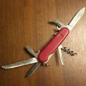 Wenger Rare Serrated Alpine Backpacker Swiss Army Knife