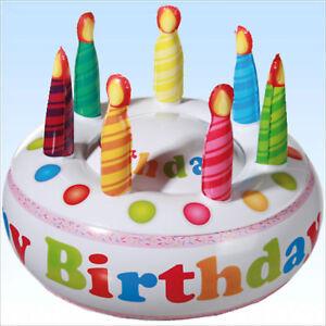 Details Zu Aufblasbare Geburtstagstorte Dekoration Geburtstag Party Kindergeburtstag Kuchen
