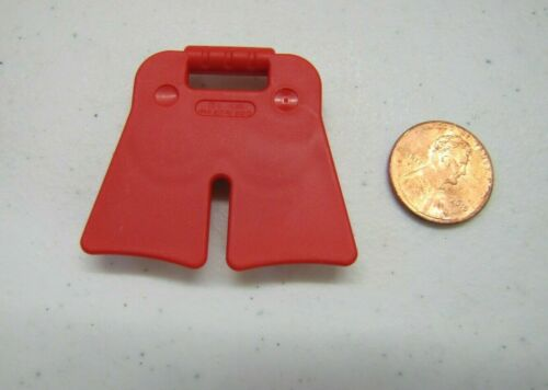 LEGO Duplo RED FLIPPERS SWIM FINS for SNORKELING SCUBA DIVING Fits Figures