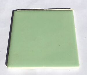 4x4 Ceramic Tile >> Details About Jade Green 4x4 Vintage Ceramic Tile Made In Usa 1sq Ft Salvaged