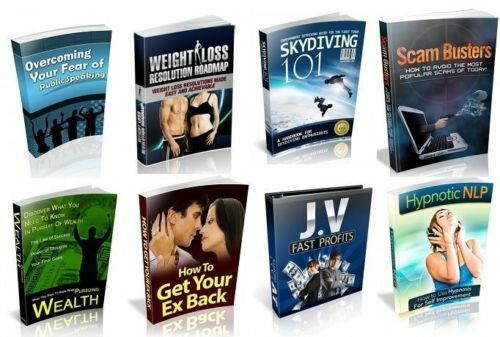 100 Private Label Rights eBooks Disc Full Resell Rights PDF Format on CD