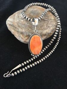 Spiny Oyster Sterling Necklace Spiny Oyster Pendant