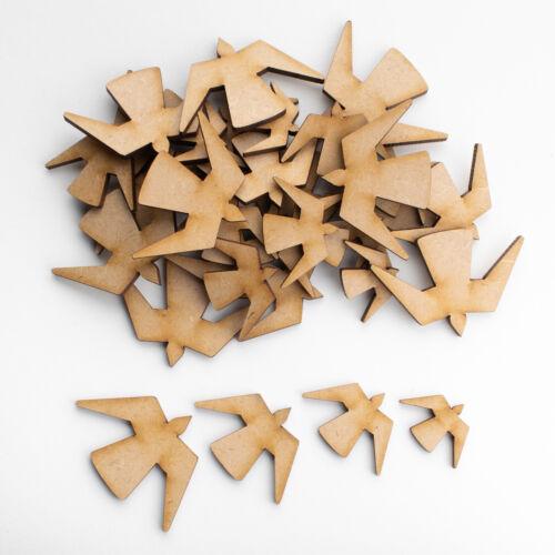 Formas de MDF de madera Artesanía Adornos Scrapbooking fuentes de decoración de tarjeta
