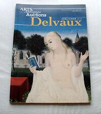 DELVAUX Extra Editie van Arts, Antiques Auctions 1997 - als nieuw -groot formaat