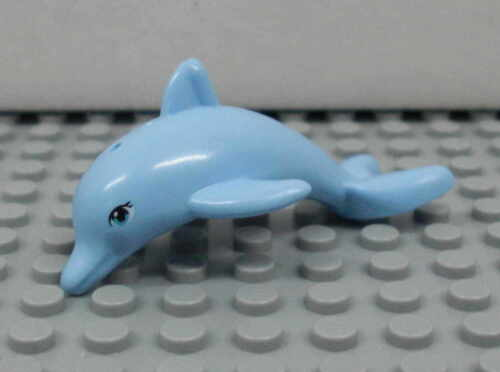 Dolphin Figur Minifig Boot Schiff Boat 41015 Delphin hellblau LEGO Friends