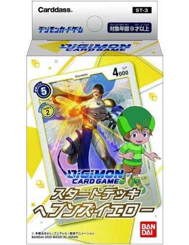 Starter Deck ST-3 Heavens Yellow Digimon Card Game Japanese