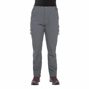 Trespass-Pasture-Womens-Ripstop-Walking-Hiking-Trousers-Grey-UV-Pants