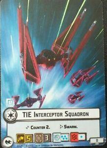 Star Wars LCG Official FFG Tie Attack Squadron Alt Art Promo Card