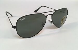 3c6a941088 New RAY BAN Sunglasses Aviator Classic Black Green Ray-Ban RayBan ...