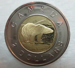 2003-CANADA-TOONIE-PROOF-LIKE-OLD-EFFIGY-TWO-DOLLAR-COIN