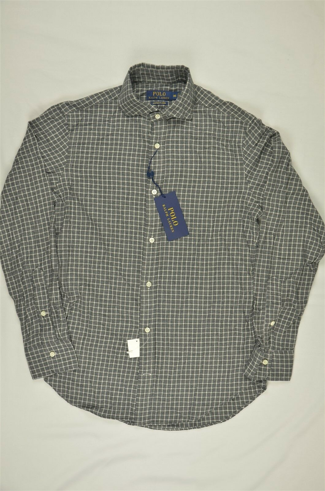 NEW MEN'S Polo Ralph Lauren Plaid Twill Flannel Casual Shirt XXL