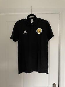 Scotland Adidas Player Issue Polo Medium