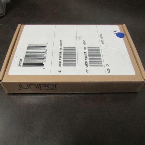 JUNIPER NETWORKS SFP-1GE-T TRANSCEIVER MODULE