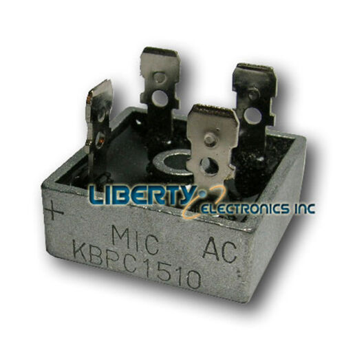 KBPC1510 For converting AC to DC hho use 15a 15 amp Full Wave Bridge Rectifier