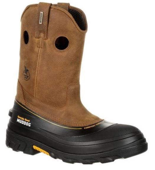 Georgia avvio avvio avvio Muddog Composite Toe Waterproof Wellington Work avvio GB00243 859247