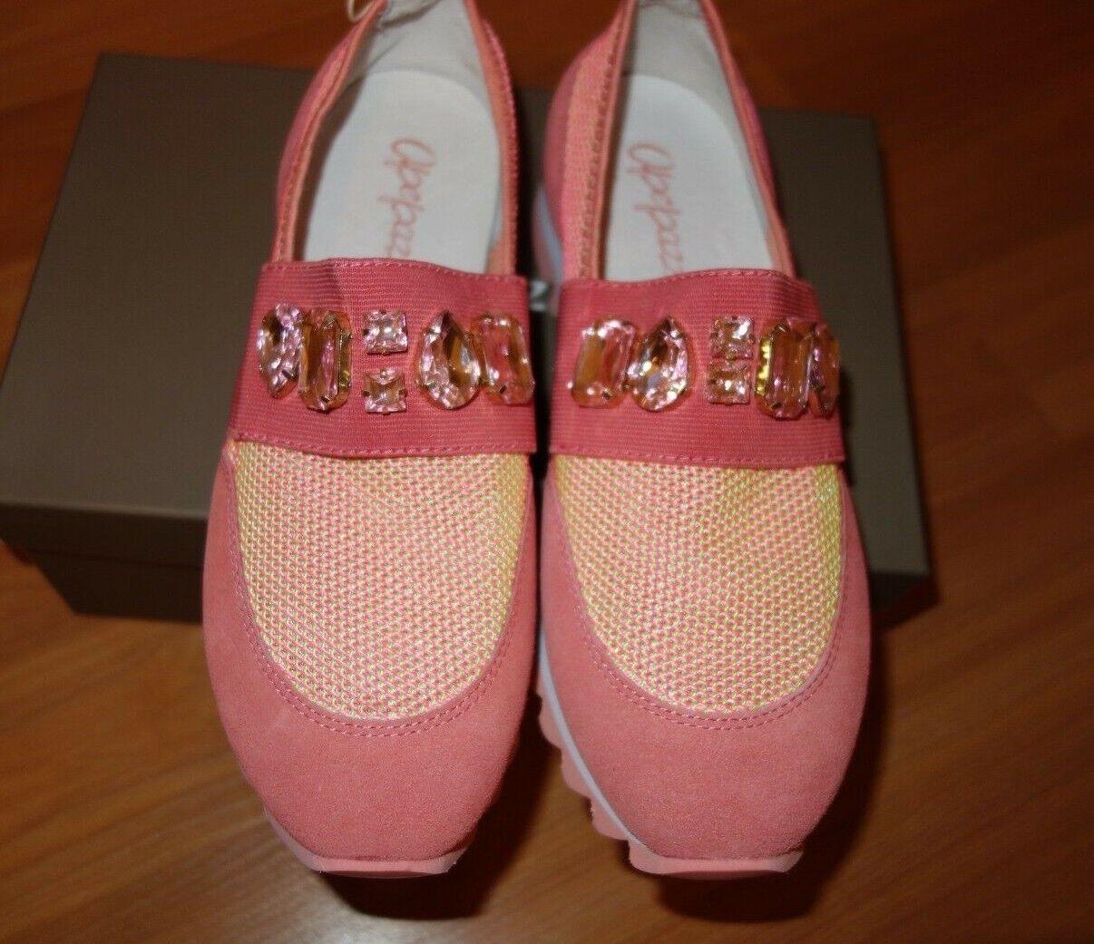 Nouveau APEPAZZA Low-TOPS & Baskets Corail Chaussures femmes sz. US 9 M 8.5 M
