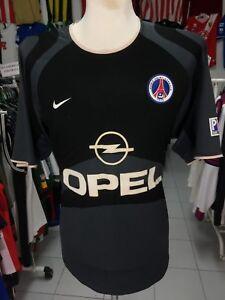 Maillot-Paris-Saint-Germain-SG-PSG-2001-02-XL-Exterieur-Nike-Jersey-Shirt