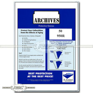 50-Archives-Sheet-Music-amp-Large-Magazines-4-Mil-Mylar-Bags-by-E-Gerber-950R