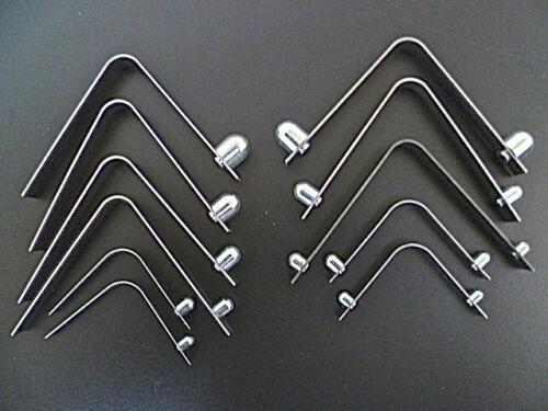 Bouton poussoir clip-printemps tube broche de verrouillage 5 à 11mm bouton Taille-Acheter 2 à 25