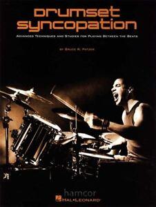 Drumset-Syncopation-Advanced-Techniques-amp-Studies-Drum-Tuition-Music-Book-Patzer