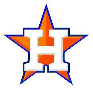 Houston Astros H Star Logo Vinyl Decal Sticker 10 Sizes Ebay