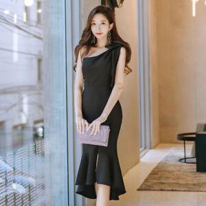 Caricamento dell immagine in corso Elegante-vestito-abito-corto-tubino-nero -comodo-ginocchio- f0538a30d03