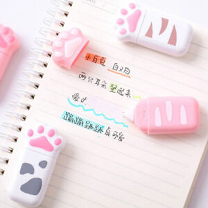 Cat-Claw-Decorative-Correction-Tape-Diary-Stationery-Office-Cute-School-Suppl-NT