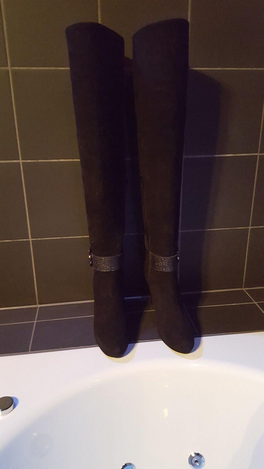 Overknee Überknie Stiefel Stiefel Franco Russo Neu Gr. 41
