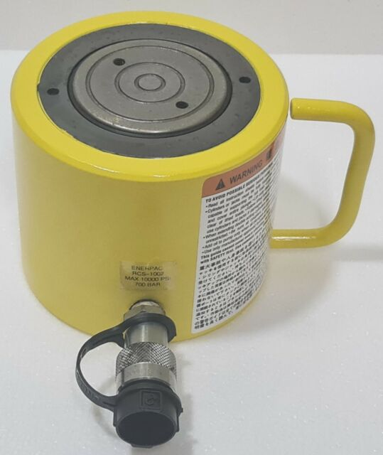 ENERPAC RCS-1002 SINGLE-ACTING LOW HEIGHT HYDRAULIC CYLINDER 100 TON CAPACITY